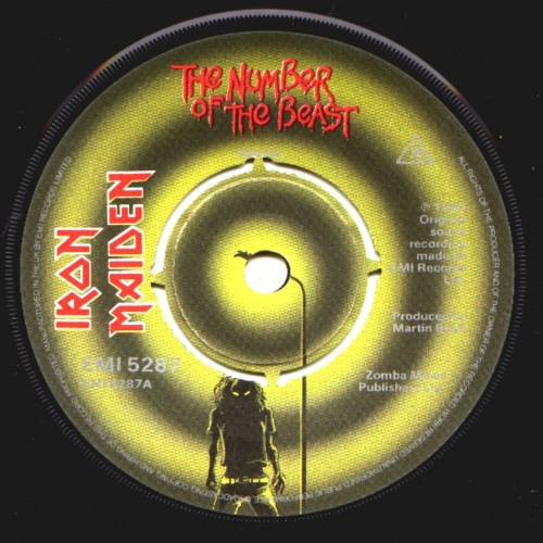 The number of the beast Single 3